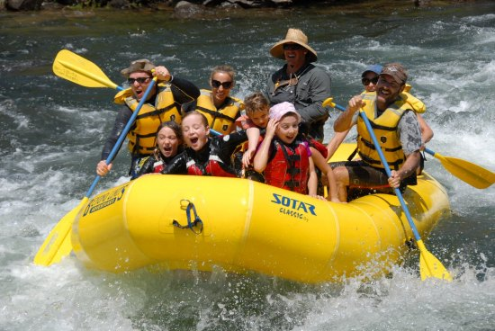 American River Guided Rafting trip w/lunch - Weekdays only