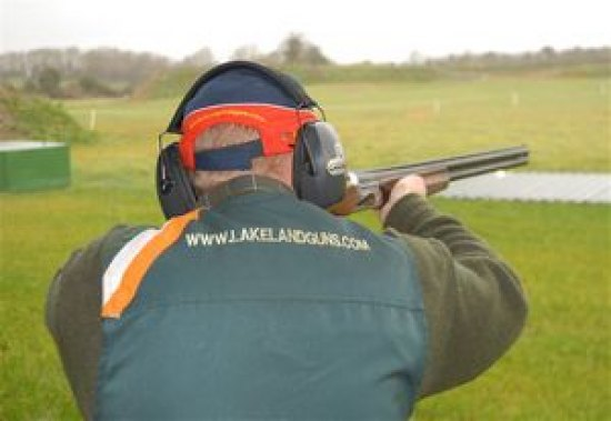 Lakeland Shooting Centre Voucher With 25 Clays and Cartridges including tuition with our qualified instructors