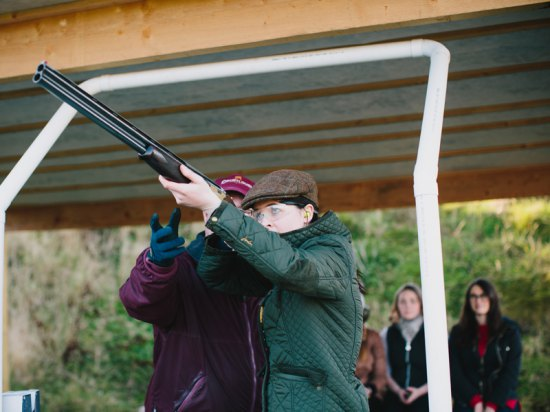 Introductory Clay Shooting Lesson