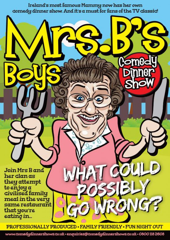 Mrs Browns Boys - Comedy Dinner Show