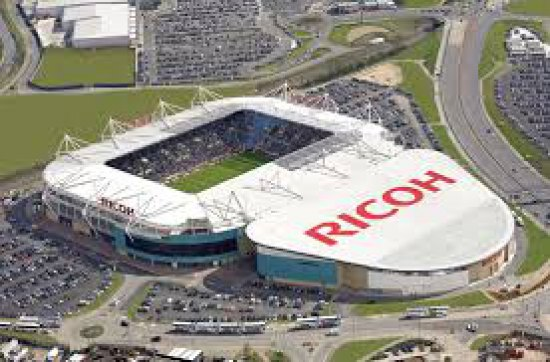 Ricoh Arena Themed R22 Trial Lesson