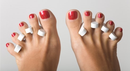 Pedicure with Gel Polish