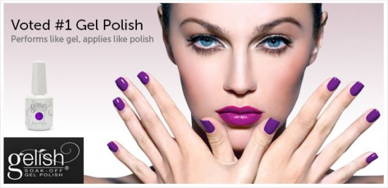 COMPETITION TO WIN A YEARS SUPPLY OF GELISH MANICURES!