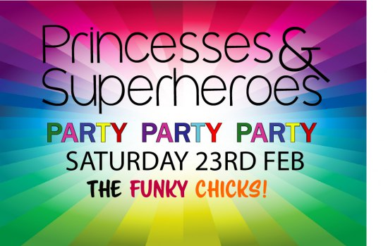 Superhero & Princesses Kids Disco - Kids Ticket (Age 3-8years)